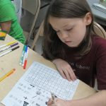 SWAN students learning to read and write Chinese characters